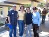 Dennis, Christiane,Armie and Maha volunteering.JPG