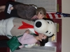 Lori & Elise with Snoopy .JPG