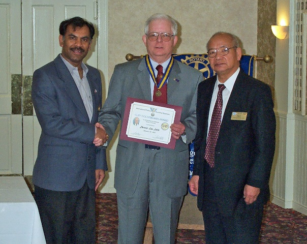 the Scouting International  Cliff Douchterman Award Presented to Dennis Salts web size .JPG