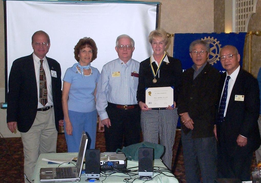 PHF  Diane Scheerhorn, With Chris Norby, Christiane & Dennis Salts, Kay Lee and Steve Chen.JPG