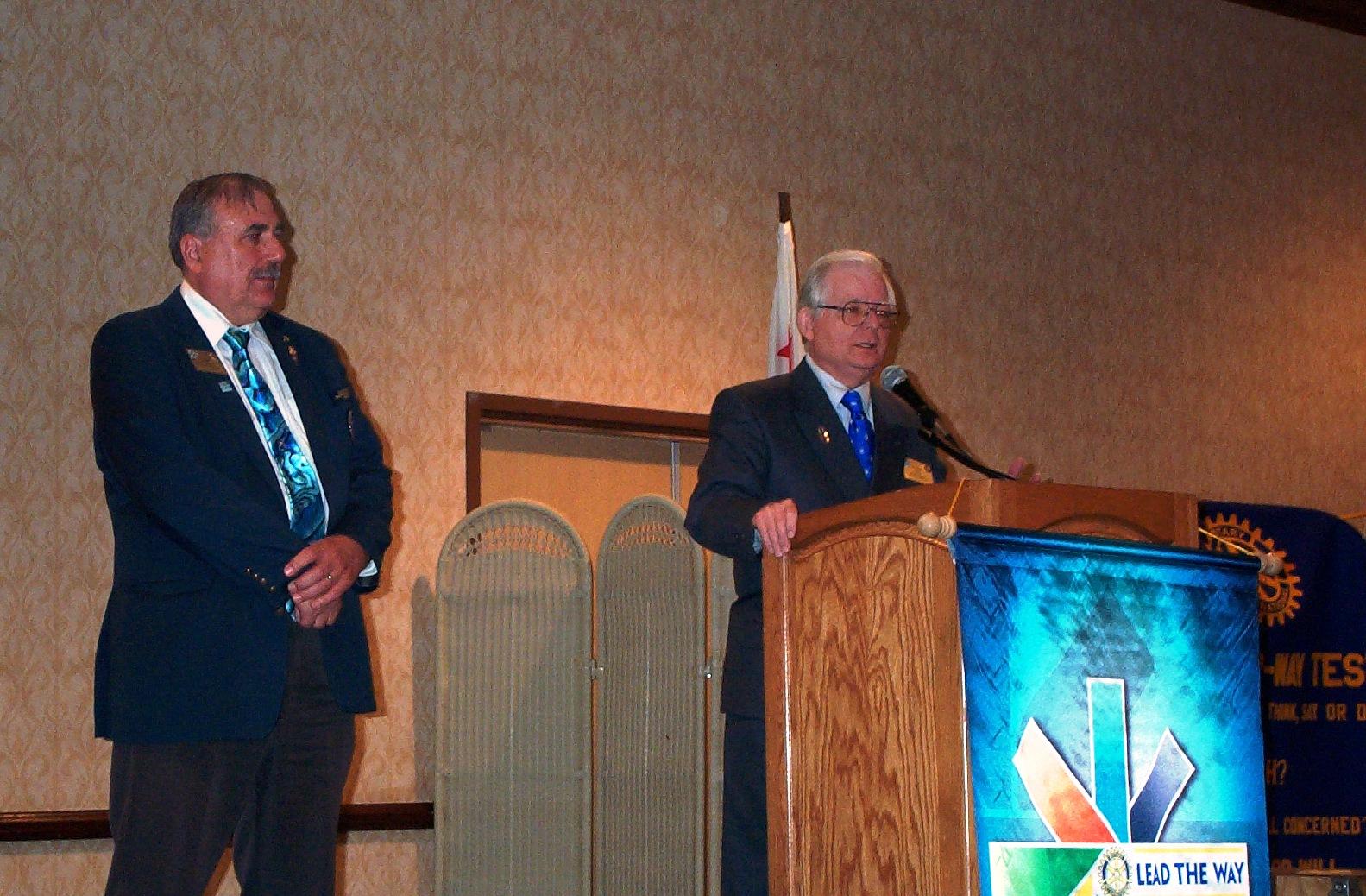 Dennis Accepts the Award.JPG