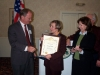 Web Chris Norby Honors Citizen of the year Donna Miller.JPG