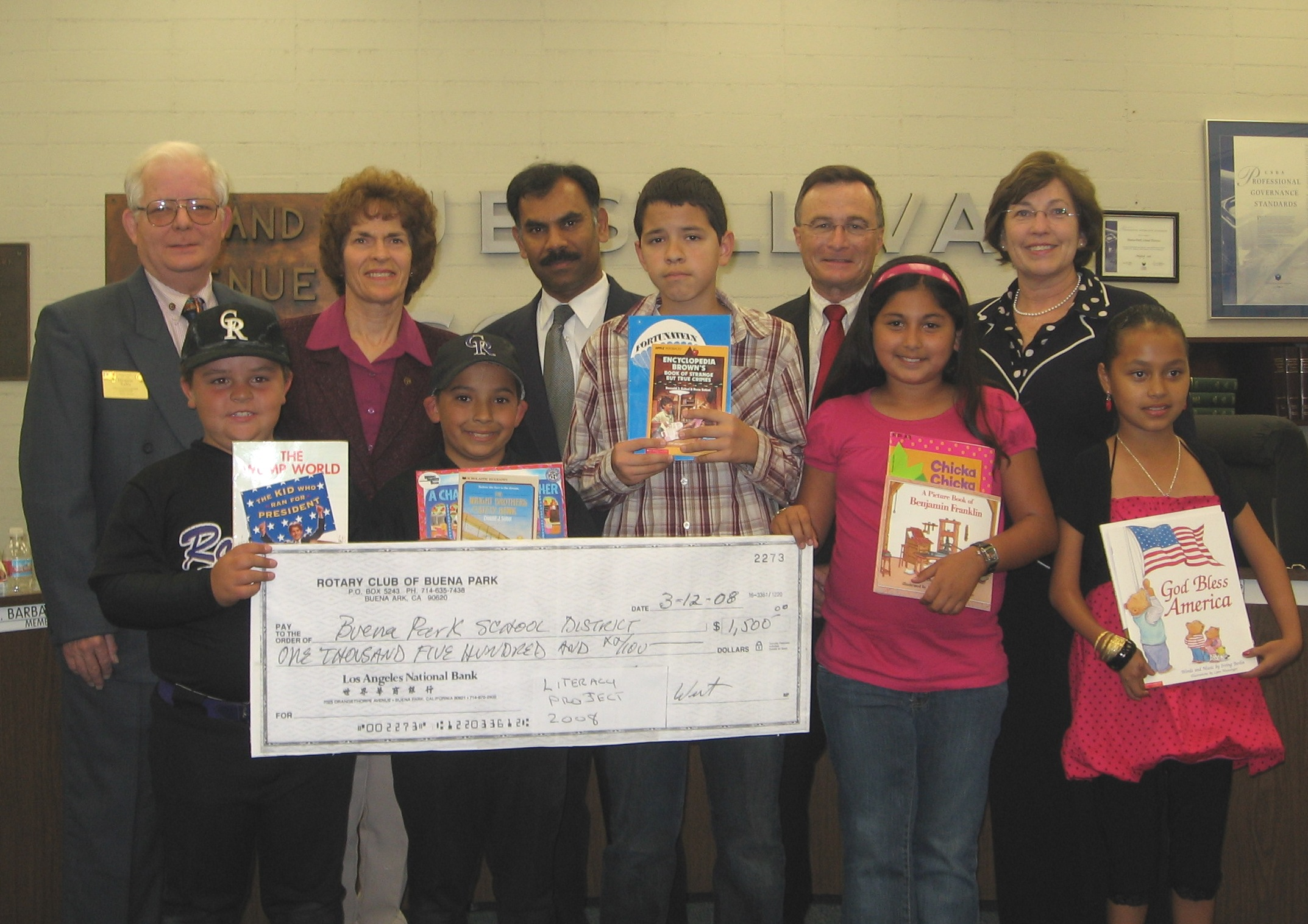 Rotarians at BP School District Reading by 9.JPG
