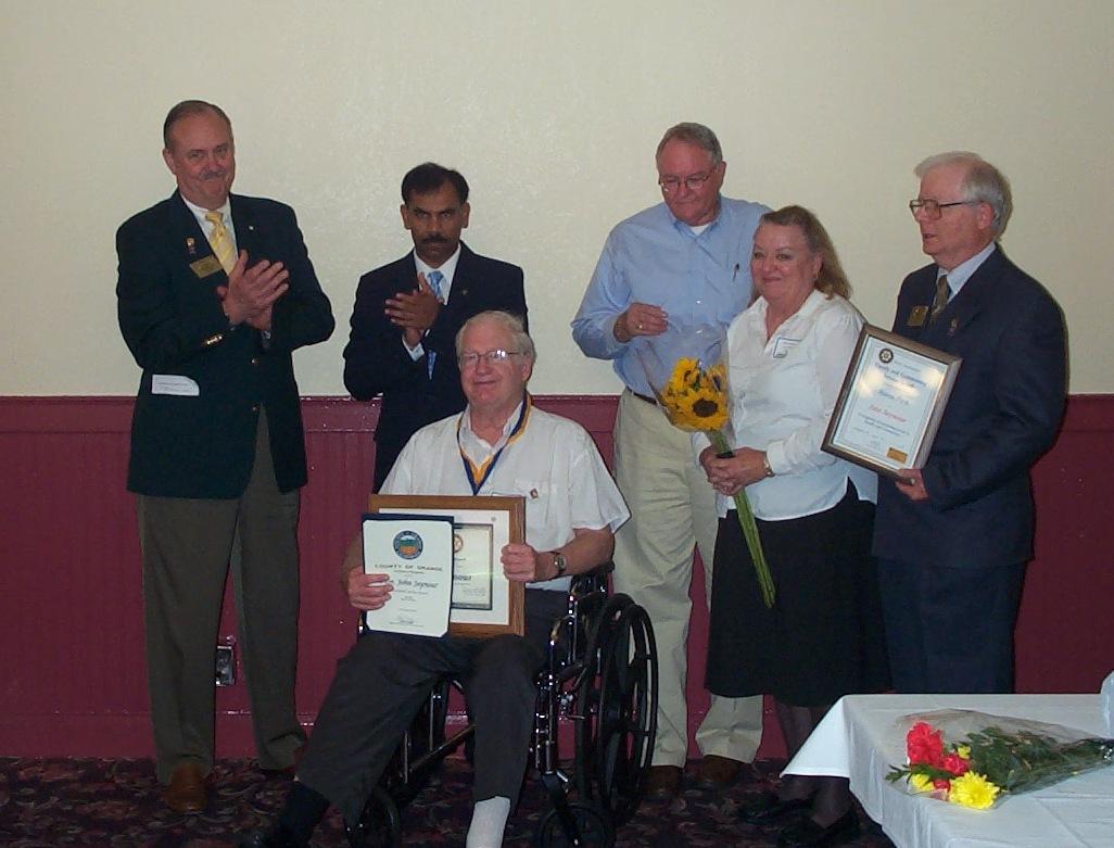 John Seymour Honored .JPG