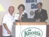 Oct 20th Polio Meeting Gift for Rick Kneeshaw .JPG