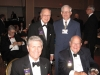 Past RI President Rick King, Cliff Dochterman & M.A.T. Caparas with SIG Dennis Salts Sep 2008.jpg