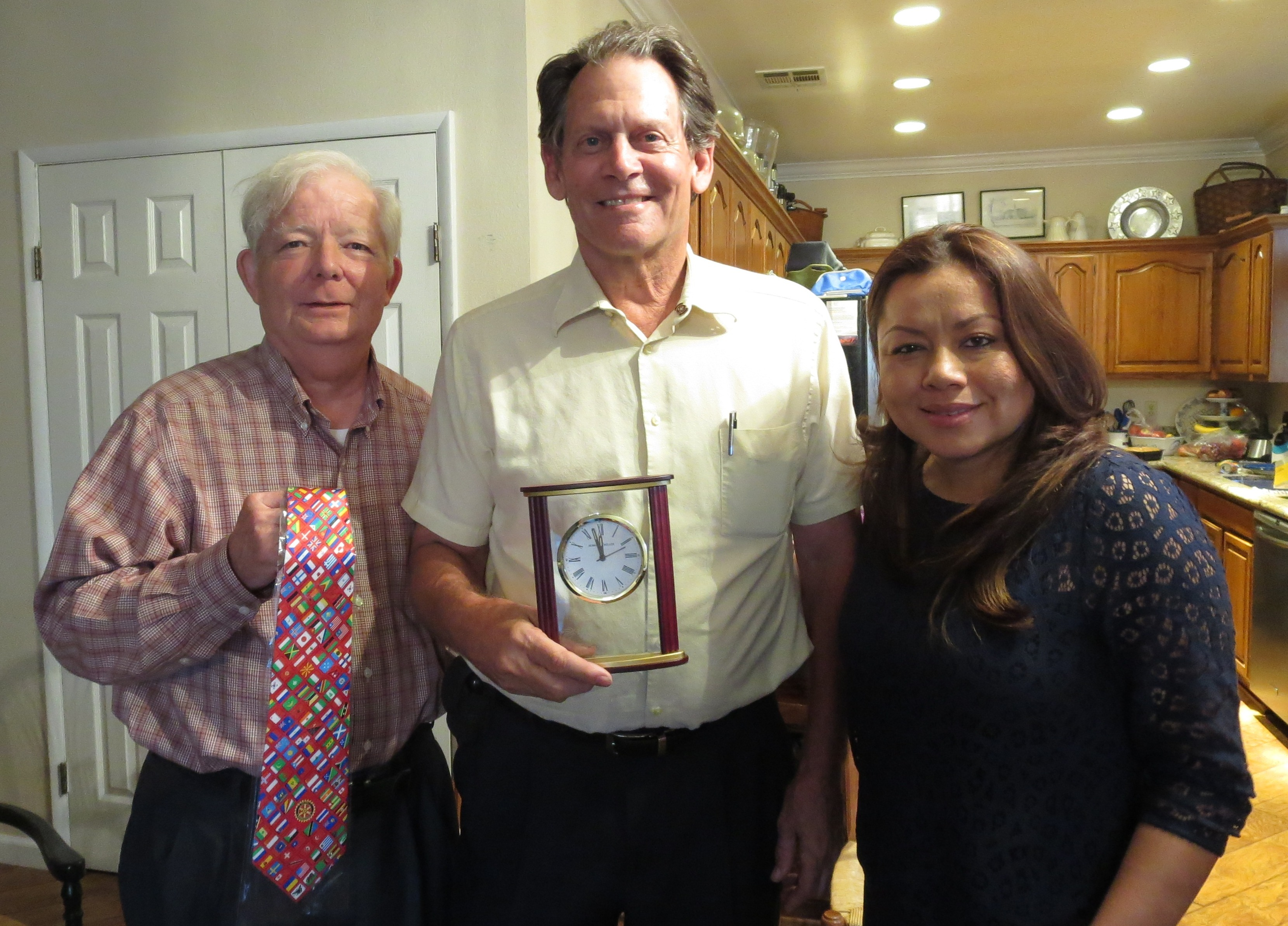 baron-receives-a-rotary-tie-and-clock
