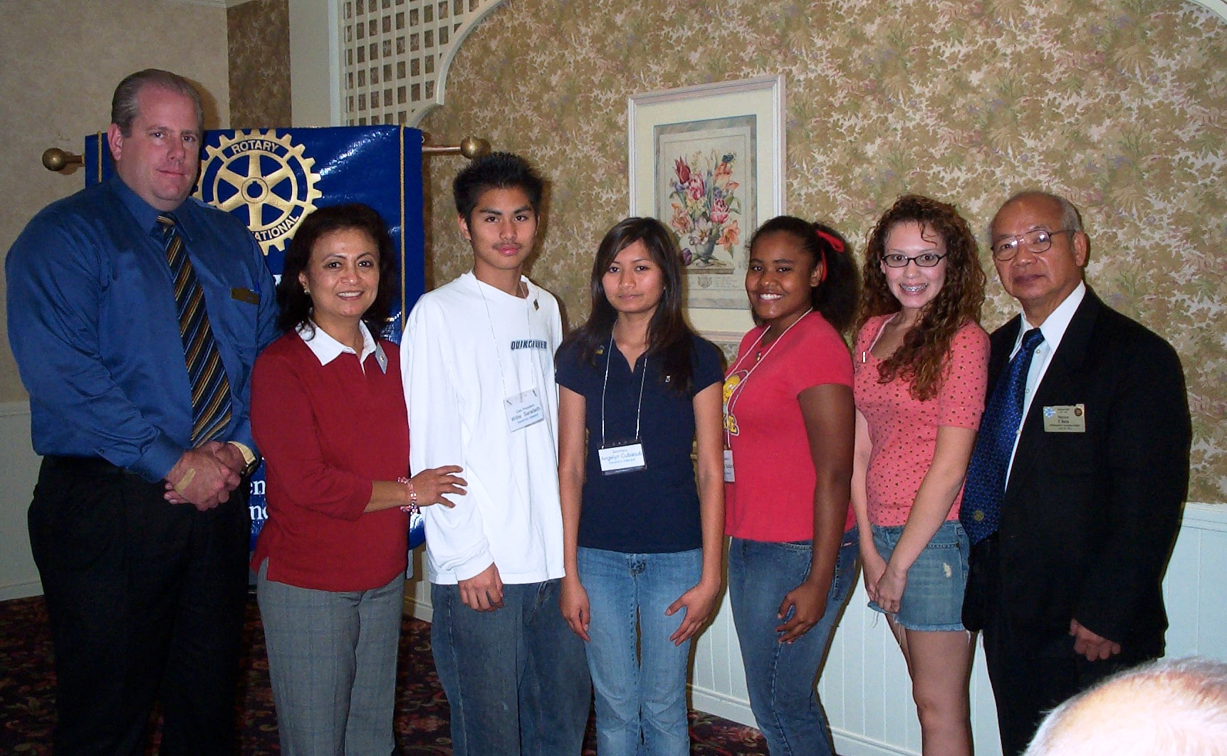 Savanna Interact at BP Rotary  2006 001.jpg