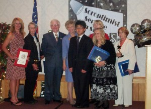 2006.8  Dennis Honored Soroptimist  Awards