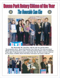 2010.05  01The Honorable Sam Kim BP Citizen of the year 2010 Web (2)