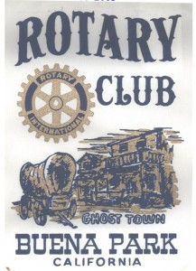 1955 Buena Park Rotary USA District 5320
