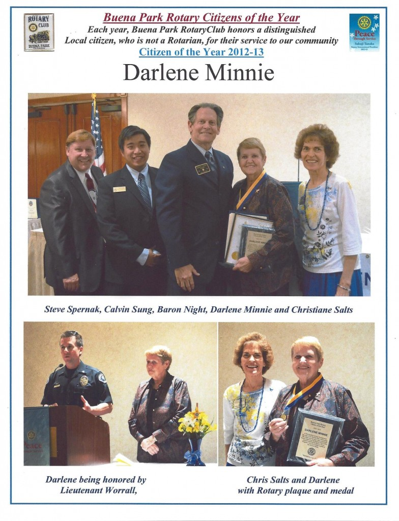 2013.06 01 Darlene Minnie Citizen of the Year